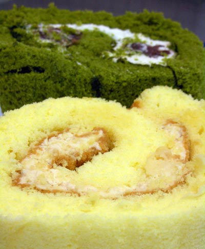マザーリーフのロールケーキ