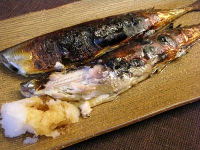秋刀魚の粕漬け