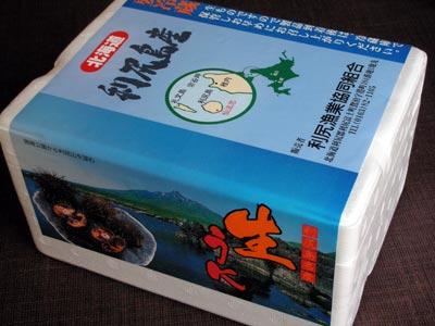 北海道利尻産のウニ