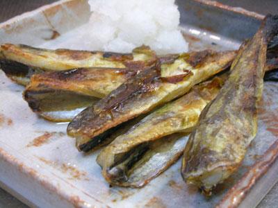 知床羅臼・舟木商店の干し氷下魚(こまい)