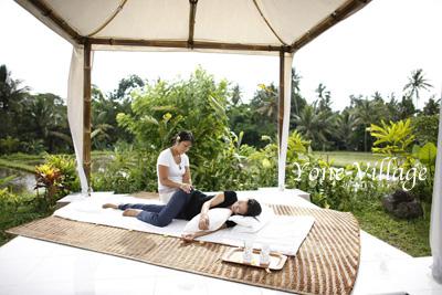 インドネシア バリ島ウブドで体感する究極のリラクゼーション&エコロジー