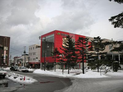 JR東室蘭駅