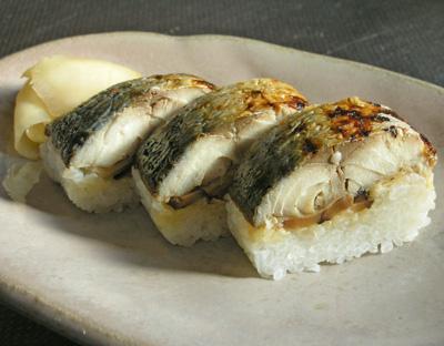 大村寿司 平野屋の鯖棒寿司