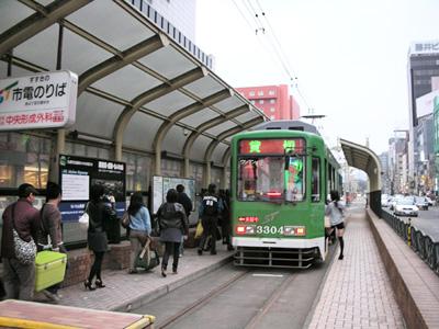 札幌市営交通の貸切り電車