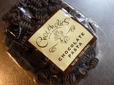 チョコレートパスタ