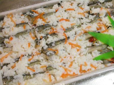 鰰(はたはた)の飯寿司