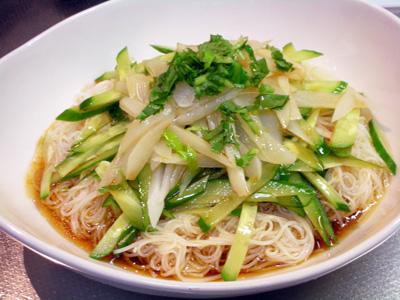 冷やし中華素麺