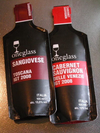 紙パックのワイン