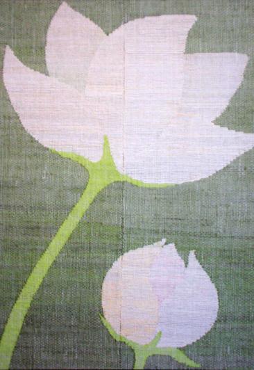 札幌在住の染織作家 朝田千佳子
