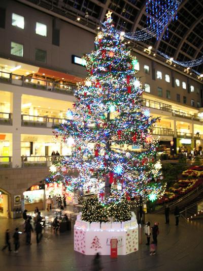 札幌ファクトリーのジャンボX'masツリー