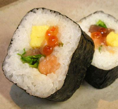 ラルズマート札幌店の巻き寿司