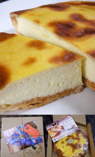 ケーキハウス「ティンカー・ベル」のチーズベーク