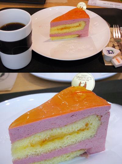 SNAFFLE'Sのケーキ