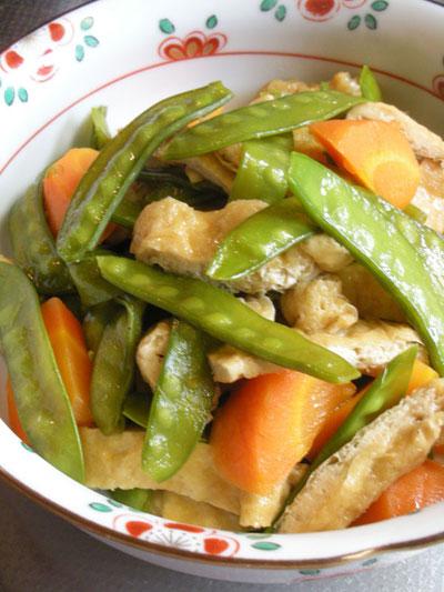 キヌサヤ惣菜