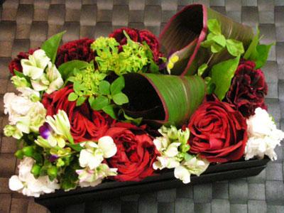 誕生日プレゼントに頂いたお花ボックス