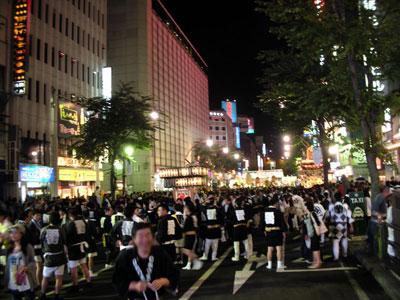 札幌の夏祭り2012年