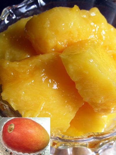 沖縄産のマンゴー