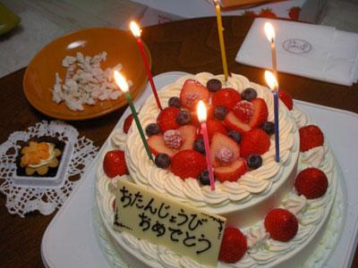 エッちゃん18才のお誕生日会