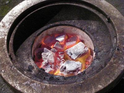 炭焼きジンギスカン