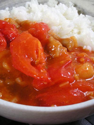 トマトと豚肉の炒め物
