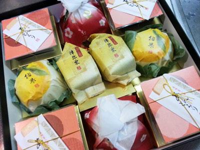 吉兆庵のお菓子