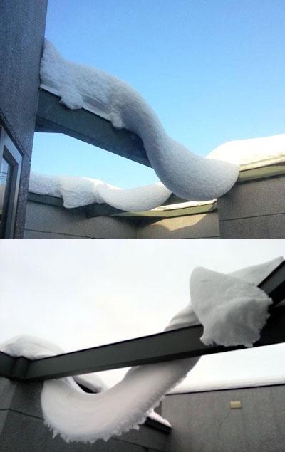 冬の風物詩 雪の作品