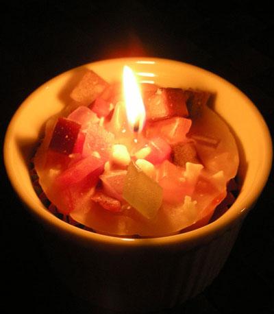 Jun's Lightのキャンドル展