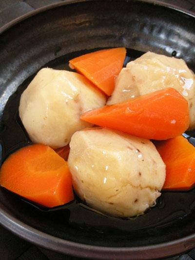 無農薬里芋の煮物