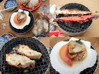 おうち海鮮BBQ!