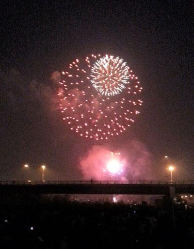 2014年 札幌豊平川河川敷花火大会
