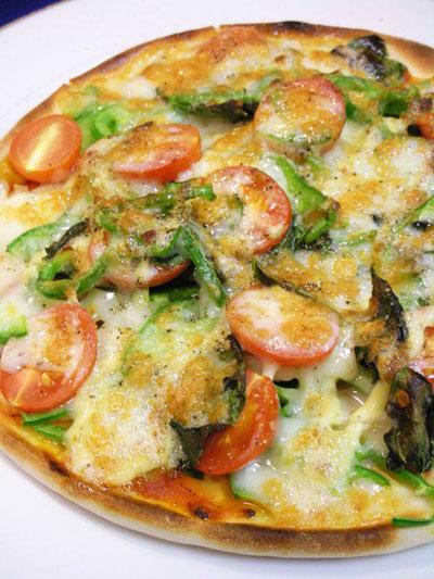おうちで美味しいピッツァ