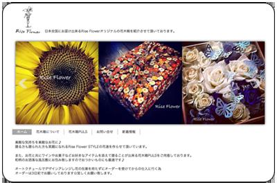 Rise Flower 花木箱