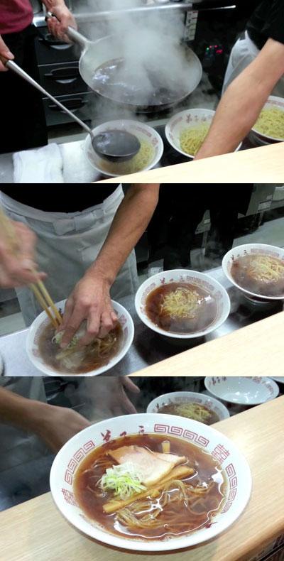 朝ラー 弟子屈ラーメン 札幌発寒店