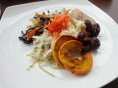 野菜ランチバイキンク