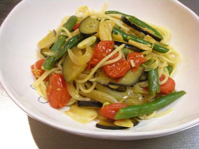 野菜パスタ