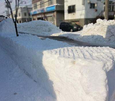 札幌市の除雪