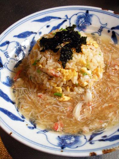 毛蟹料理レシピ