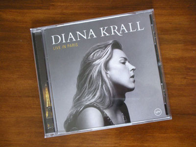 DIANA KRALL / LIVE IN PARIS