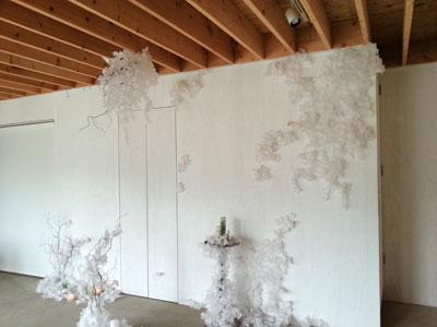 Installation art Jun Yonezawa and Ai Komori