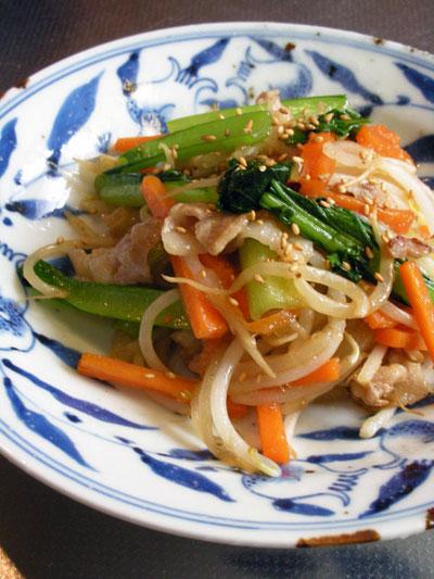 美味しい野菜炒め