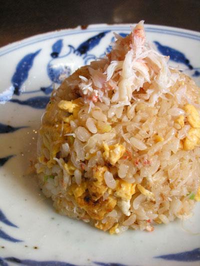 北海道産毛蟹料理