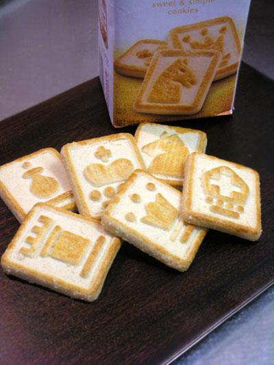 ペパリッジファーム社のクッキー