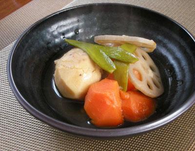ヤツガシラ(里芋)と根菜の煮しめ