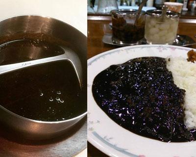 英国風黒カレー 札幌のカフェメニュー