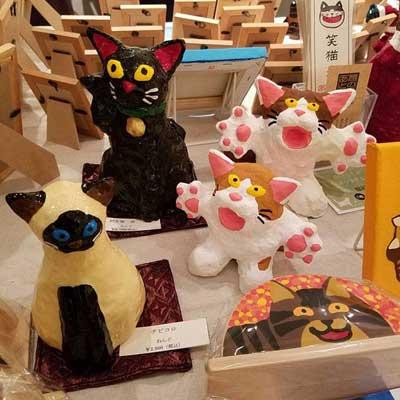 青舎又猫&山下絵理奈「2人の猫ねこ展」