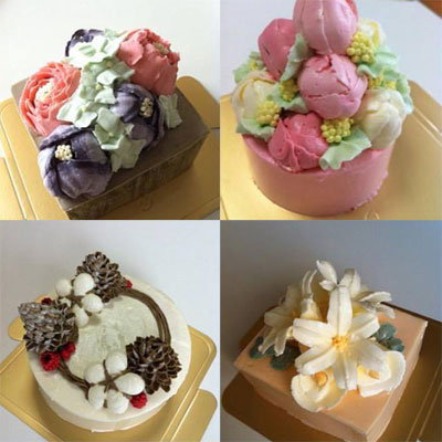 フラワーケーキ 恵庭・札幌