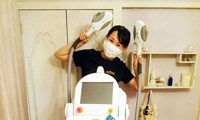 フォトRFフォトフェイシャル×北海道産化粧品