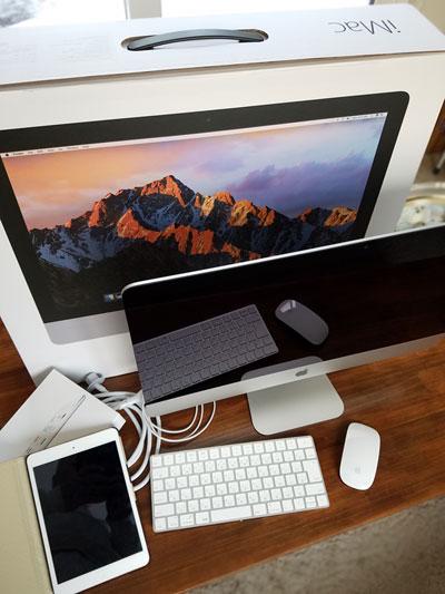 2017 iMac iPadmini2