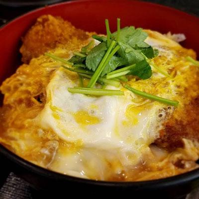 """""""蕎麦屋のカツ丼"""""""
