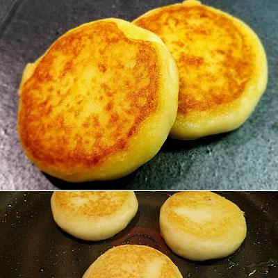"""""""芋餅のバター焼き"""""""